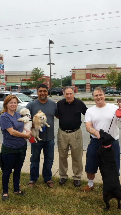 Cook County dog day in Des Plaines